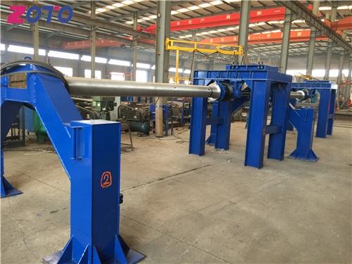 悬辊式水泥制管机生产线