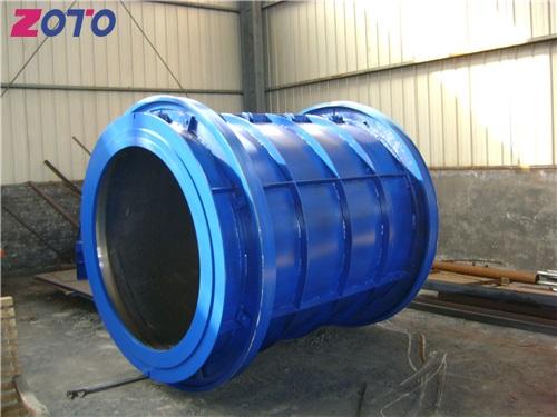 悬辊式水泥制管模具