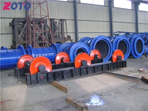 湖北水泥制管机自动化生产线